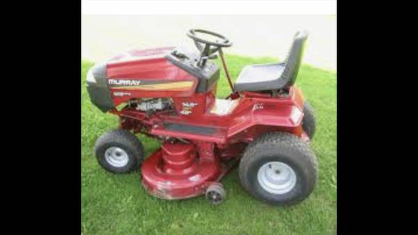 Photo Murray 42 Cut Riding Mower - $250 (Cantonment)