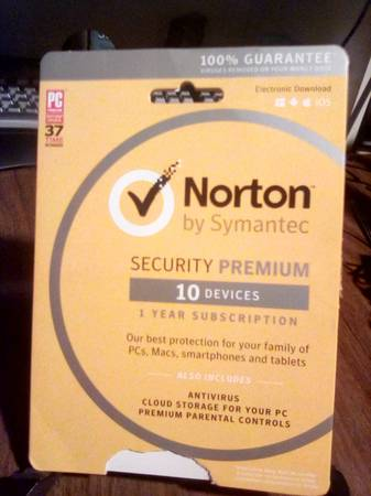 Photo NEW Norton Security Premium 10 devices - $22 (West Pensacola)