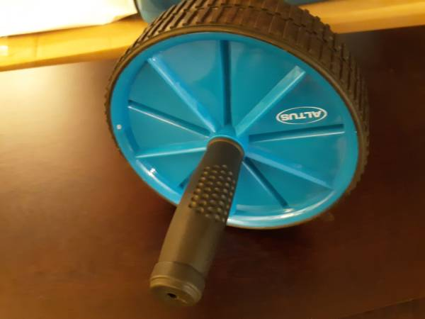 Photo New Altus Athletic Dual Exercise  Home Fitness Ab Roller Wheel - $5 (Pace)