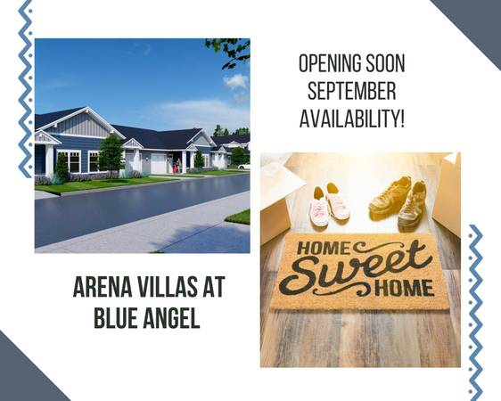 Photo New Apartment Homes Pre-leasing for September (N. Blue Angel Parkway)