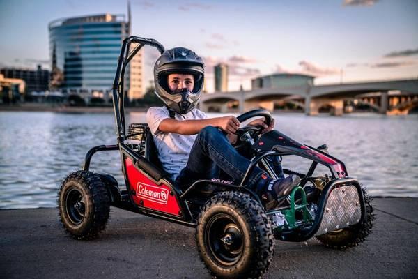 Photo New Coleman Go Kart, 100cc Gas Powered, SK100 - $600 (Gulf Breeze)