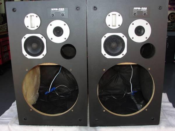 Photo Pioneer HPM 900 Speakers - $100 (Pace)