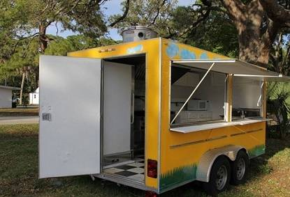Photo ()The 2011 Fast Food Trailer Only 1 Owner() - $810 (pensacola)