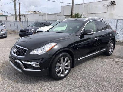 Photo Used 2017 INFINITI QX50 AWD w Premium Package for sale