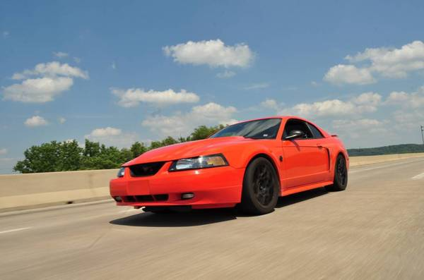 Photo 04 Mustang GT Competition Orange - $7250 (East Peoria, IL)