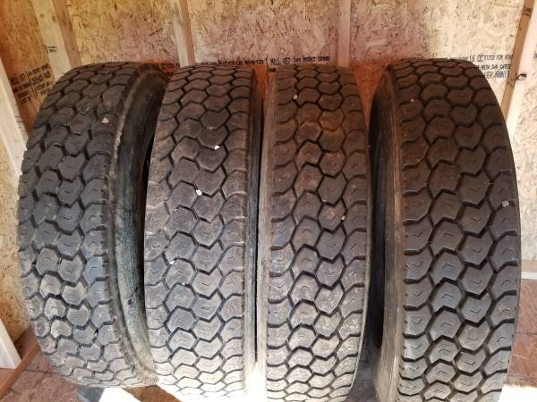 Photo 11 25 low pro drive tires - $350 (east peoria)
