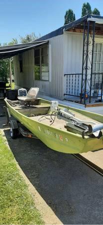 Photo 16 foot Jon boat for sale - $1,000 (Peoria, IL)