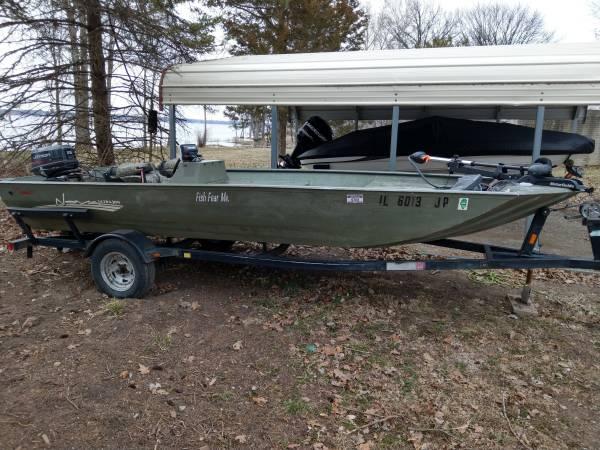 17 ft Nova Ultra Jon boat - $5500 (Spring bay) | Boats For Sale