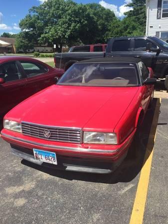 Photo 1993 Cadillac Allante - $5,500 (Pekin, IL)