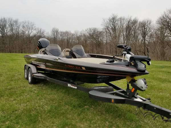 Photo 2019 Triton 20 TrX Elite Tournament Bass Boat - $54,000 (Peoria)