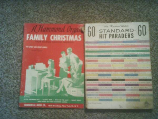 Photo A Hammond Organ Family Christmas For Spinet And Preset Models 1959 - $2 (Peoria)