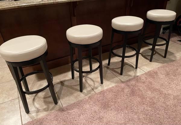 Photo Bar Stools swivel kitchen counter Pier One - $200 (Dunlap)