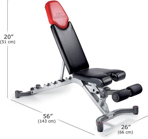 Photo Bowflex SelectTech Adjustable Bench Series - $400 (East Peoria)