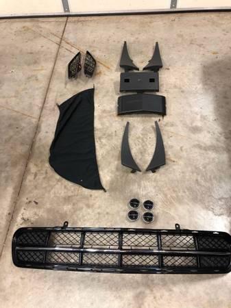 Photo C7 Corvette group of body accessories - $125 (Dunlap)