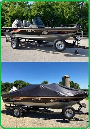 Photo --Clean title 2003 lund 1775 proV boat with trailer for sale-- - $1,450 (peoria)