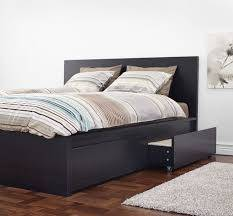 Photo Ikea Malm Bed Frame (Full) with 2 drawers - $100 (Peoria Heights)
