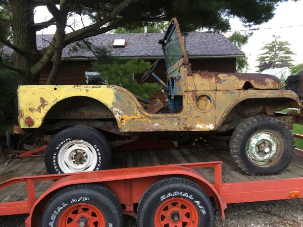 Photo M38A1 Willys Jeep - $1,600 (Canton)