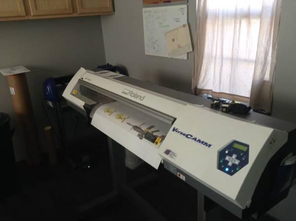 Photo ROLAND SP300i Printer business - $12000 (Galesburg)