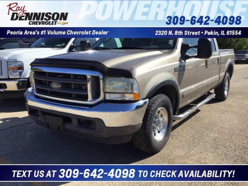 Photo Used 2003 Ford F250 XLT for sale