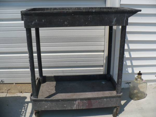 Photo Used Mac Quality Tools Utility Cart - $25 (Peoria Heights)