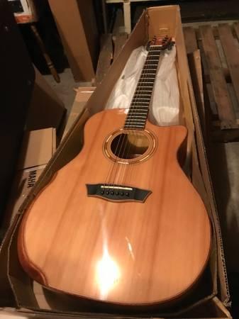 Photo Washburn Ergonomic Acoustic Guitar - $650 (Washington)