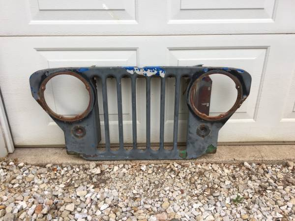 Photo Willys Jeep CJ2A grill - $120 (Canton)
