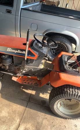 Photo simplicity tractor and snowblower - $350 (Galesburg)