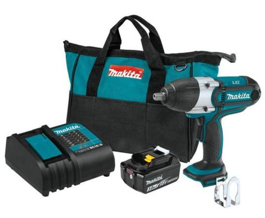 Photo 18-Volt LXT Lithium-Ion Cordless 12 in. Sq. Drive Impact Wrench Kit, - $135 (Lansdowne)