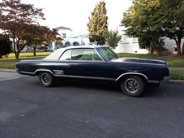 Photo 1965 Oldsmobile 442 Convertible - $19,000 (Wilmington)