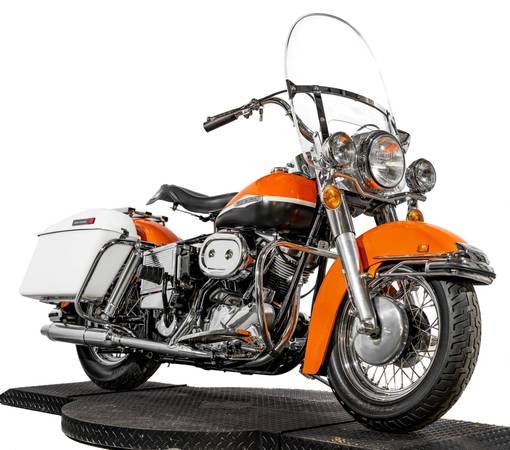Photo 1969 Harley Davidson FL 74quot Shovelhead Rare Antique Restored to New - $21995 (Zieglerville)