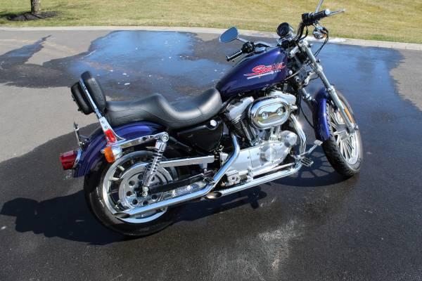 Photo 2000 Harley Davidson Sportster XL883 - $3,500 (Newtown)