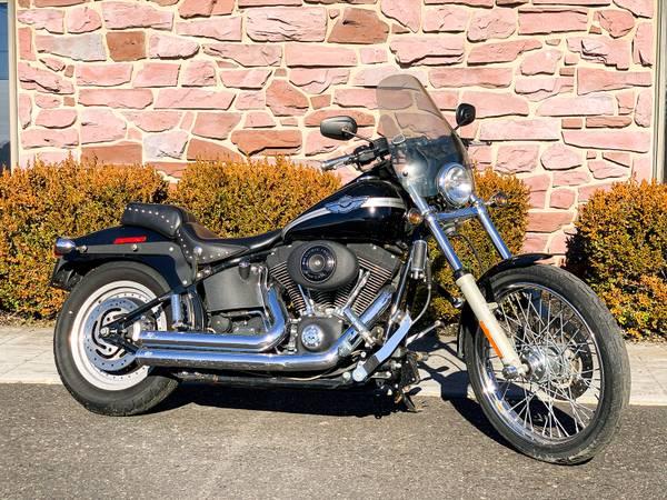 Photo 2003 Harley-Davidson Softail Night Train FXSTBI 100th Anniversary - $8,495 (Zieglerville)