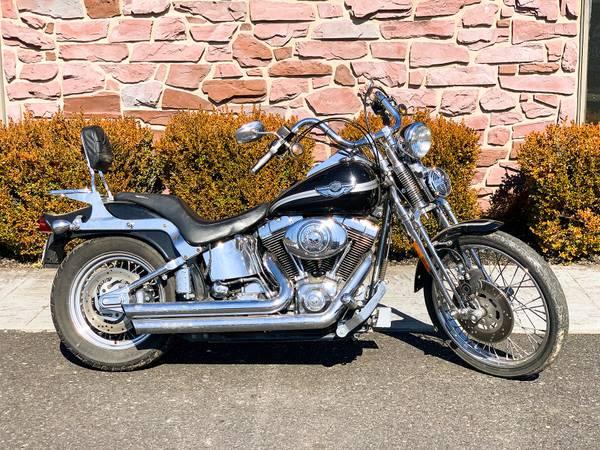 Photo 2003 Harley-Davidson Springer Softail FXSTSI 100th Anniversary 21,546 - $8,995 (Zieglerville)
