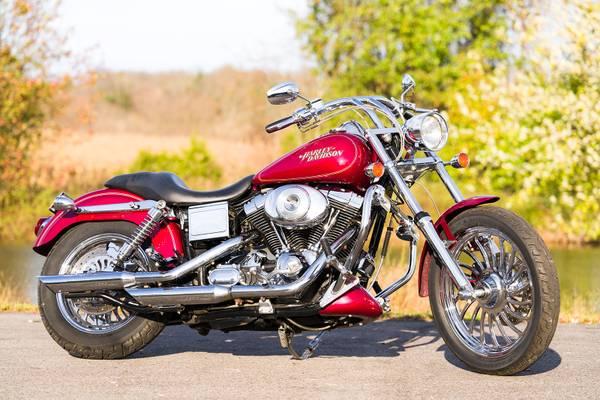 Photo 2004 Harley-Davidson Dyna Low Rider FXDLI Custom Billet Wheels - $7,995 (Zieglerville)