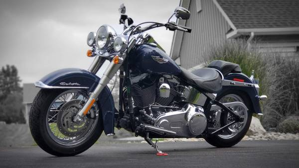 Photo 2008 Harley-Davidson FLSTN Softail Deluxe - $7,999 (Hatfield)