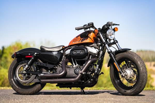 Photo 2015 Harley-Davidson 1200 Sportster Forty-Eight 48 XL1200X 5,897mi - $8,495 (Zieglerville)
