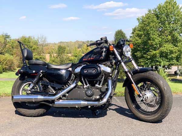 Photo 2015 Harley-Davidson 1200 Sportster Forty-Eight 48 XL1200X 3,203Mi - $8,495 (Zieglerville)