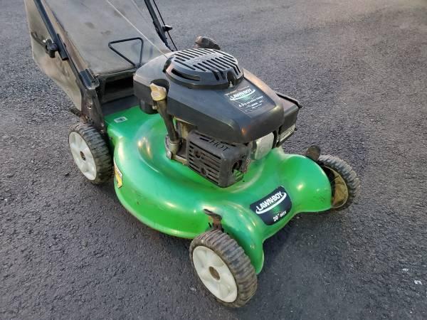 Photo 20quot Lawn Boy 149cc Kohler 6.5 PUSH mower - $140 (Bristol PA)