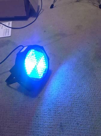 4PCS RGB LED DMX DJ light fixture Sound Active set of 4 - $50 (University City)