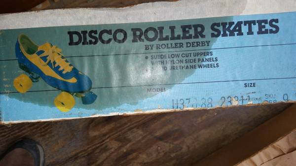 Photo 70s Disco Roller Skates By Roller Derby - $50 (Limerick, PA)