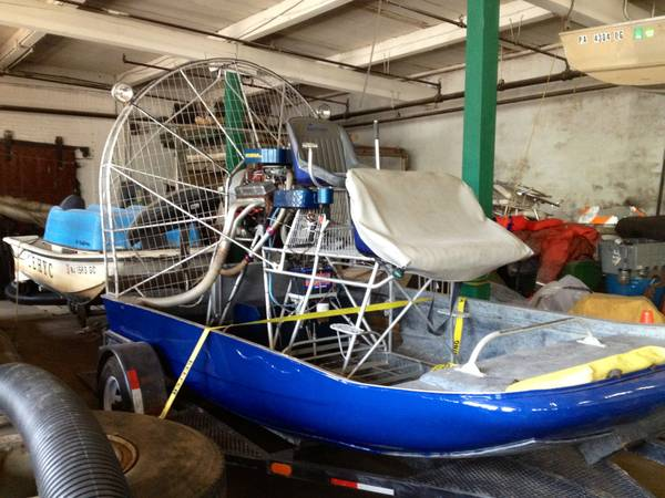 Photo Air Boat - $10500 (Nephila)