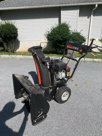 Photo Ariens Sno-Tek Snow Blower For Sale - BEST OFFER - $350 (Broomall)