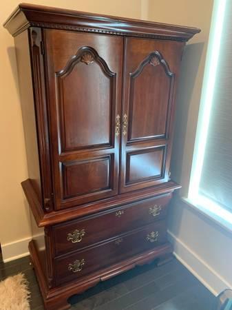 Photo Armoire Dresser- Solid Cherry - $225 (Philadelphia)