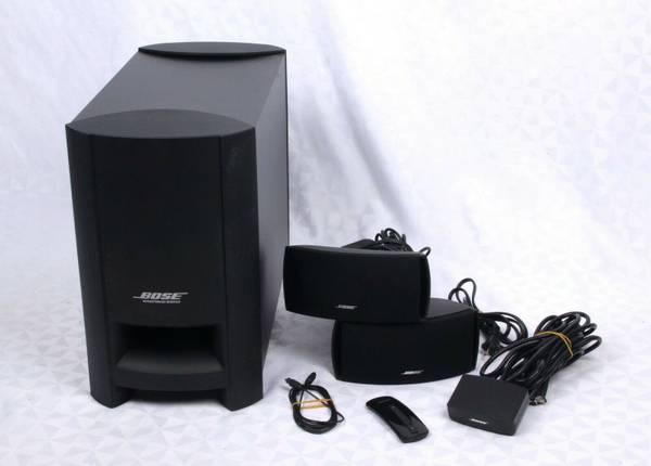 Photo BOSE CineMate Series-II Digital Home Theater Speaker System - $230 (NORTH PHILADELPHIA)
