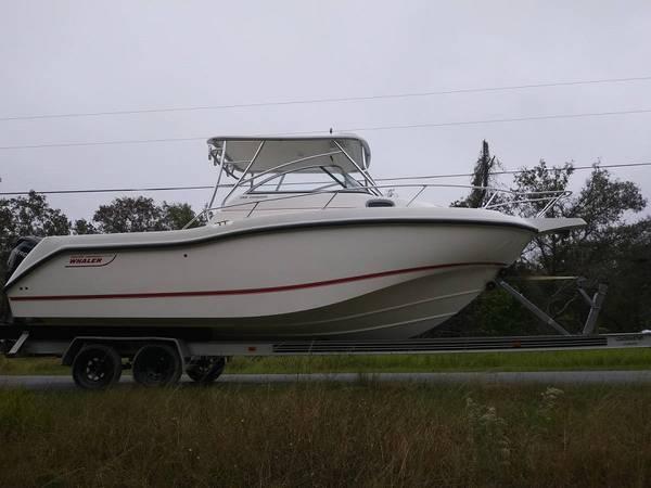 Photo Boston Whaler 255 Conquest twin mercury verado 2008 the boat have al - $32155 (Water Ready)