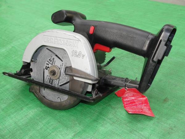 Photo CRAFTSMAN 18 VOLT CORDLESS CIRCULAR 5 12quot TRIM SAW MODEL 973.113120 b - $15 (Bristol, Pa)