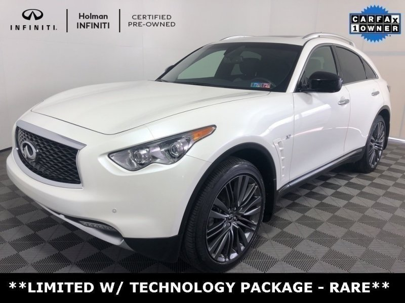 Photo Certified 2017 INFINITI QX70 AWD w Limited Package for sale