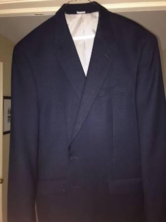 Photo Croft  Barrow Men39s Navy Blue Blazer Sport Coat Size 44L - $35 (Bucks County)