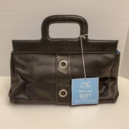 Photo Davidoff Cool Water Woman promotional black tote bag NWT - $5 (Glenolden)
