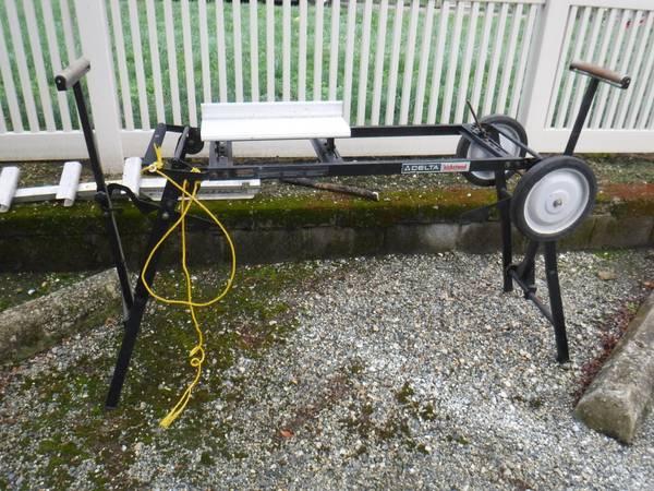 Photo Delta Kickstand Portable Miter Saw Work Stand - $45 (Bala Cynwyd, Pa. 19004)